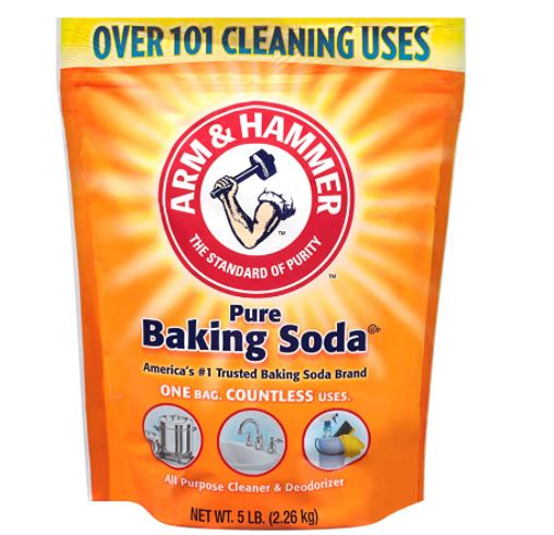 how to get bike grease out of clothes: Baking Soda
