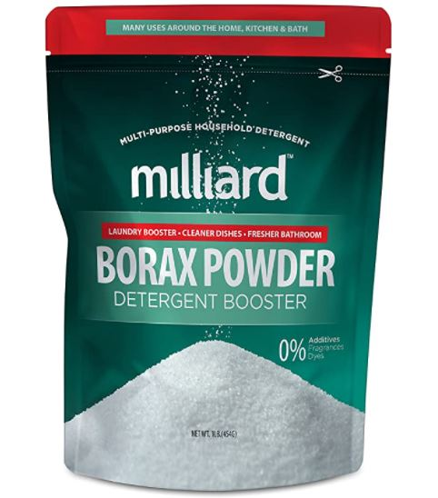 how to get bike grease out of clothes: Borax powder