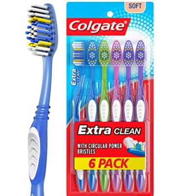 How to Get Grass Stains Out of Shoes: Colgate Tooth brush