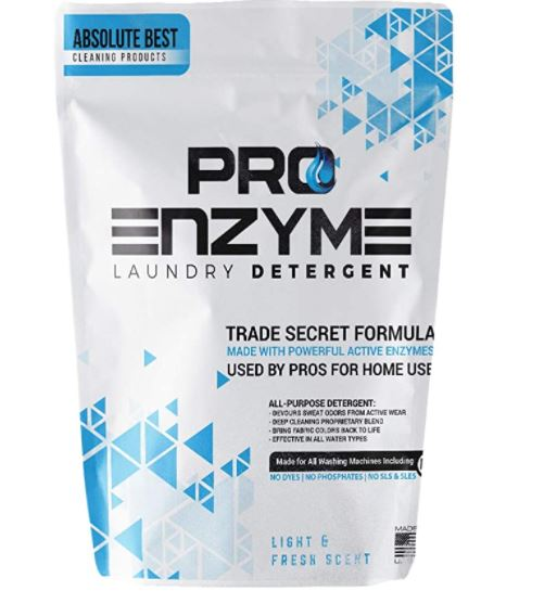 How to Get Toothpaste Out of Shirt: Pro Enzyme Laundry Detergent