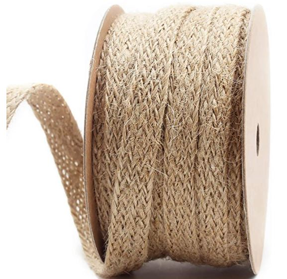 How to Make A Straw Hat: LaRibbons 0.47 inch Burlap Braided Hemp Rope